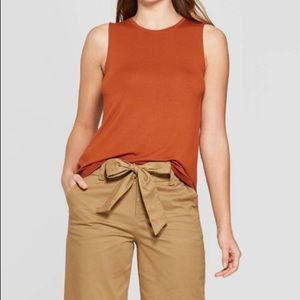 🔥BOGO!! A New Day Sleeveless Loose Top